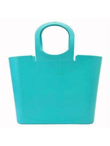 Damska Torebka ekologiczna A4 Gregorio Lucy ITLU480 Shopper Bag turkus