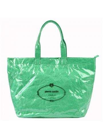 Damska Torebka ekologiczna A4 Pierre Cardin 8003 RX86 zielony