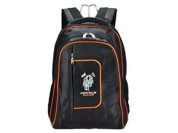 Harvey Miller Polo Club MON965 czarny + pomarańczowy