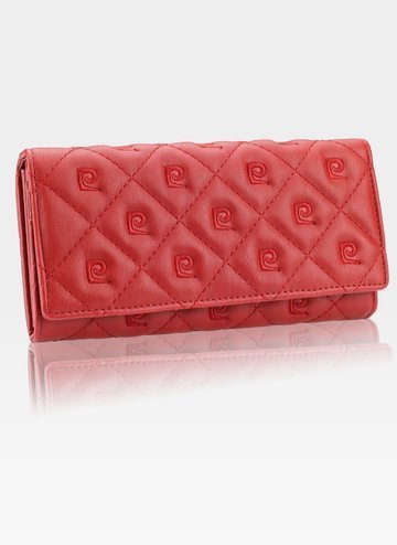 Luksusowy Modny Portfel Damski Pierre Cardin lady20 8671 rosso