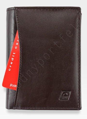 Portfel Męski A-Art Elegancki Klasyczny 4076 Brązowy