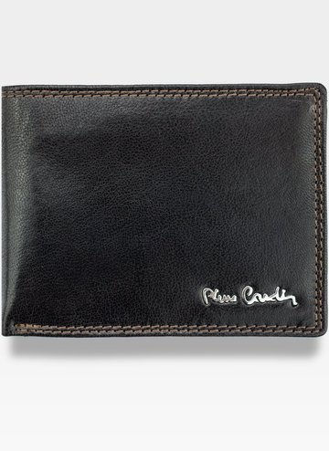 Portfel Męski Pierre Cardin Skórzany brąz Lukas14 8806 RFID