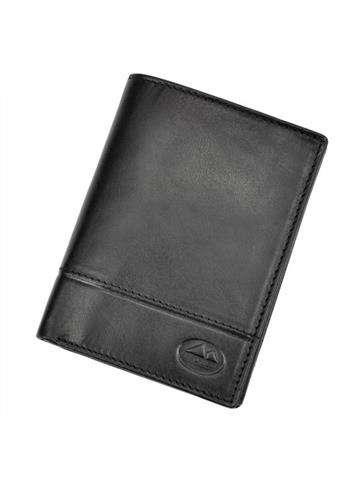 Portfel męski skórzany EL FORREST 859-61 RFID czarny
