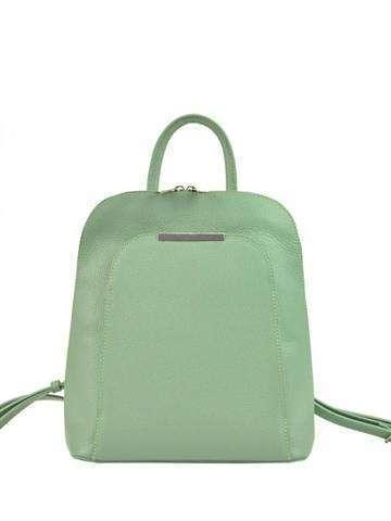 Skórzany plecak damski A4 Patrizia Piu 519-001 pistacjowy