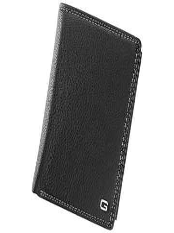 Stylowy skórzany portfel męsk iGregorio N992-VD czarny