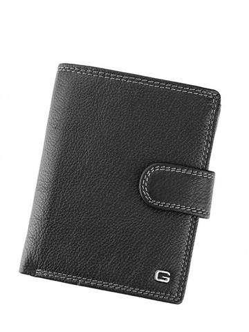 Stylowy skórzany portfel męsk iGregorio N992L-VD czarny