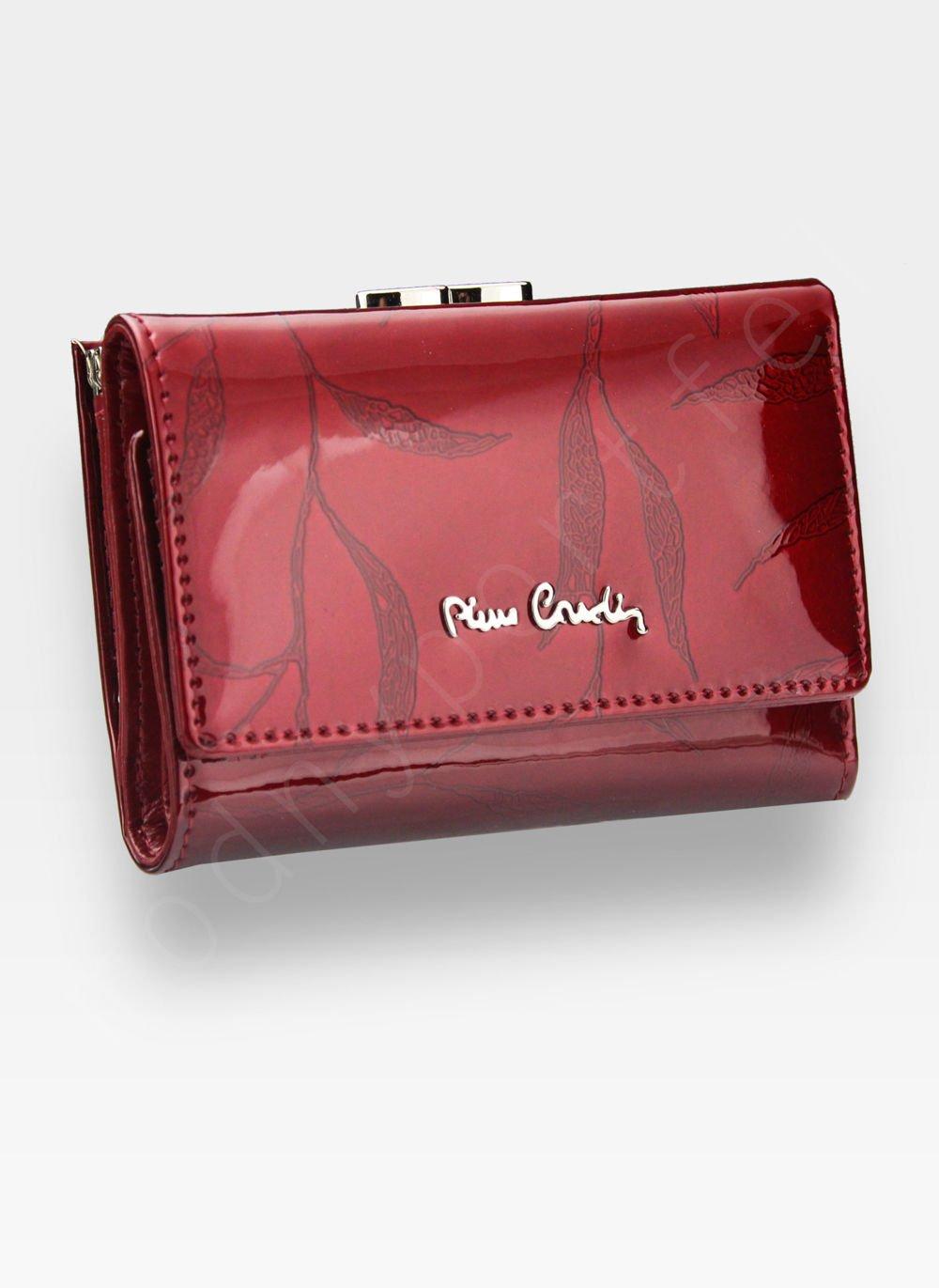 3b2c4e65332ec ... Portfel Damski Pierre Cardin Skórzany Czerwony w Liście 117 Kliknij