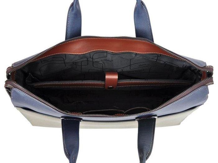 A4 Pierre Cardin LM50051 GP04 khaki + ciemny brąz