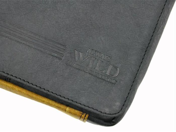 Saszetka Męska Skórzana Always Wild BAG-2-HB czarna