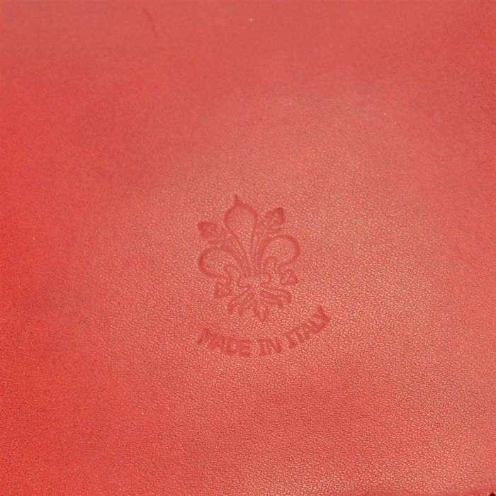 Damska Torebka Skórzana Florence 510 czerwony