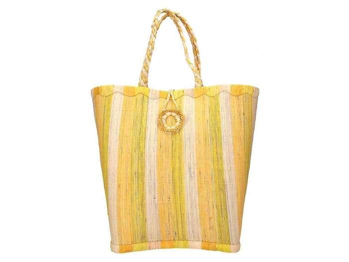 Damska Torebka ekologiczna A4 Glamour 70095 żółty