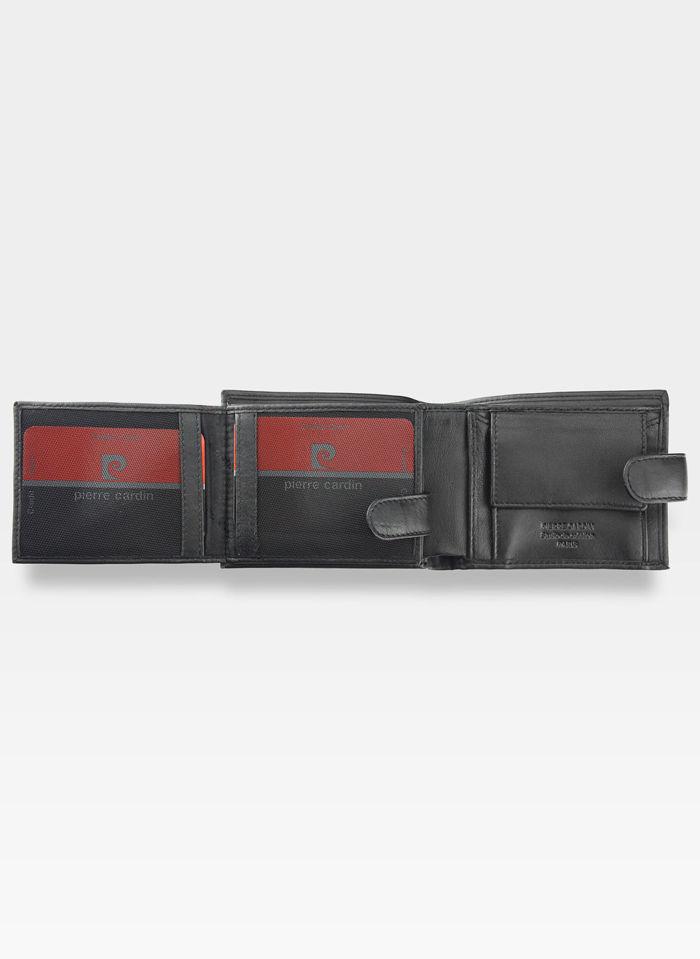 Męski Portfel Oryginalny Pierre Cardin Skórzany Klasyczny Tilak09 323A