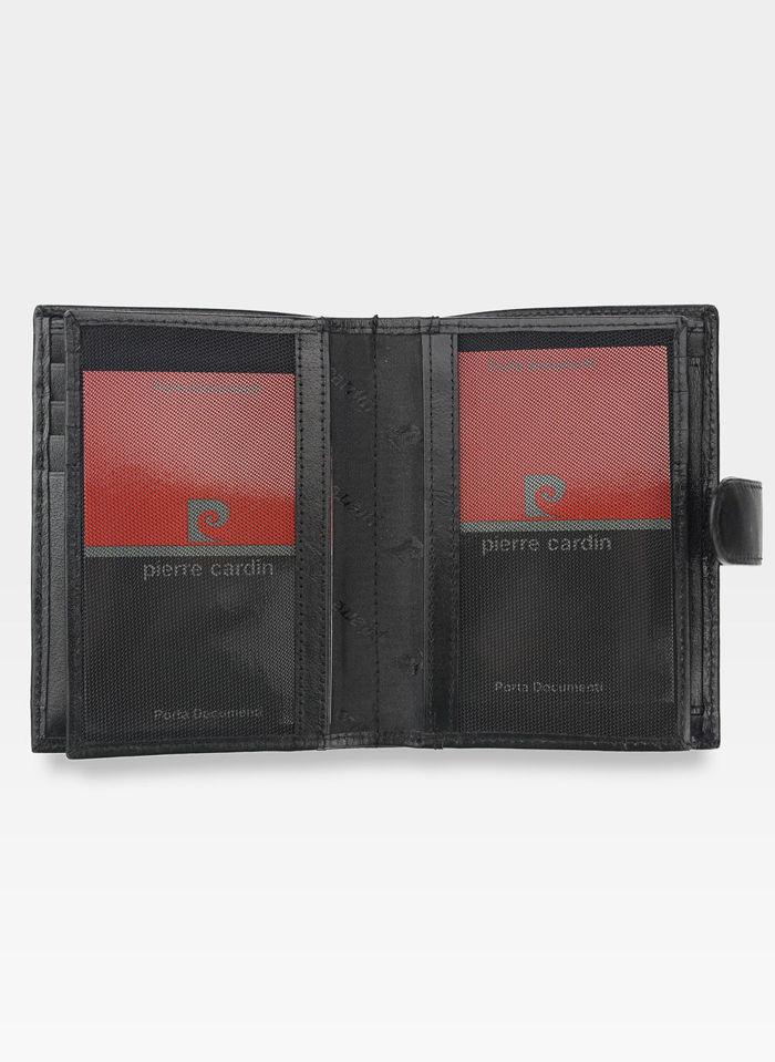 Oryginalny Portfel Męski Pierre Cardin Zapinany Skórzany YS520.1 331A