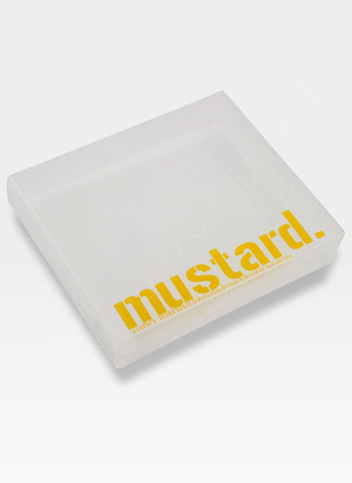 Portfel Męski Mustard SOFIA Na Prezent SLIM