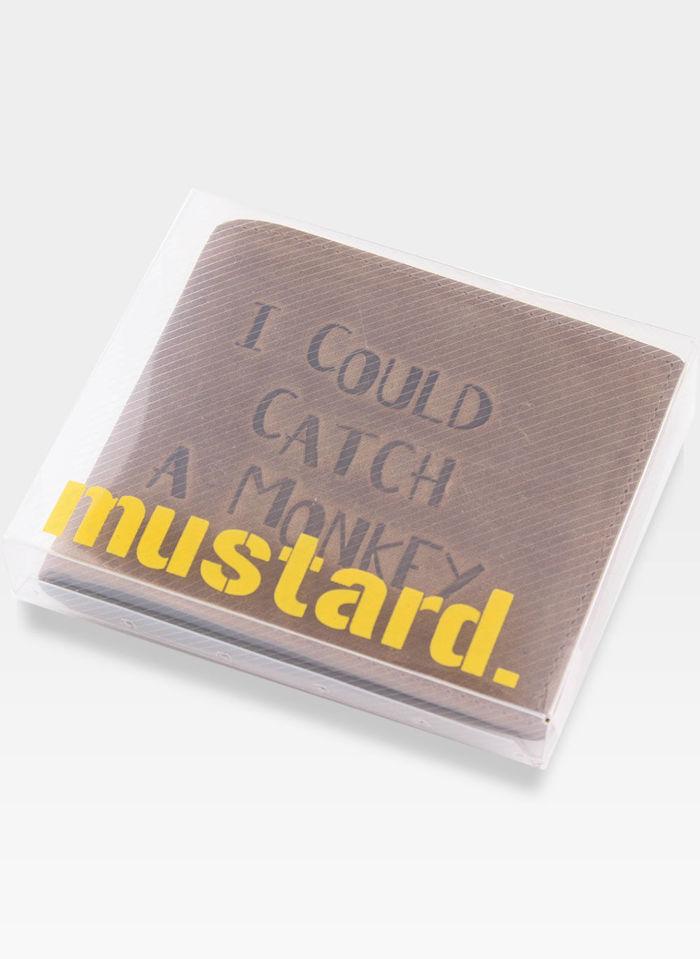 Portfel Męski Mustard Skórzany (keenan)