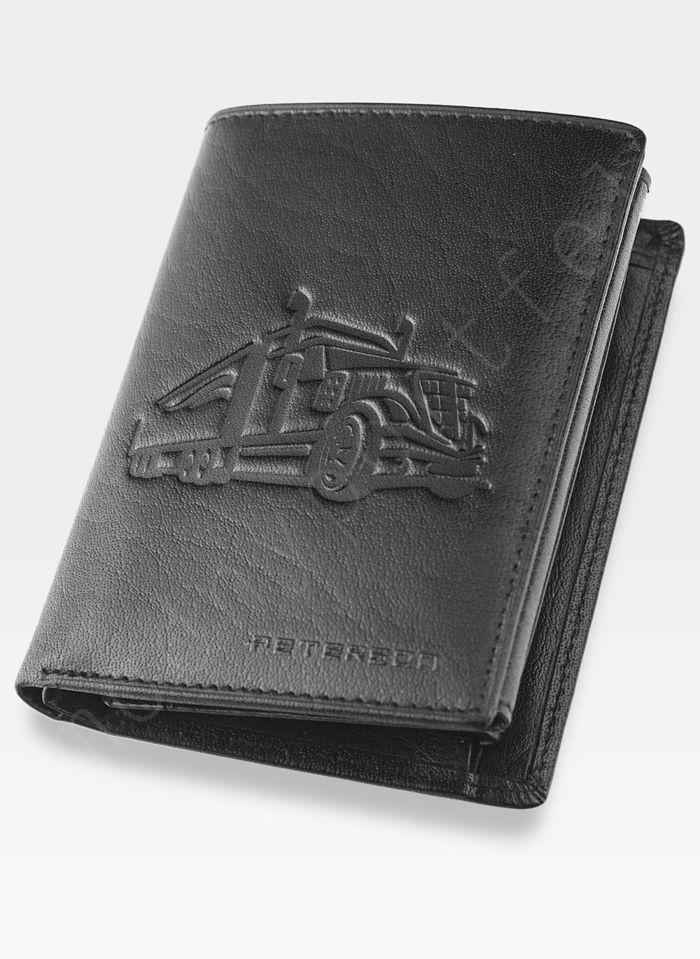 Portfel Męski Peterson Skórzany 348 TIR Mieści Dowód Rejestracyjny w Etui!