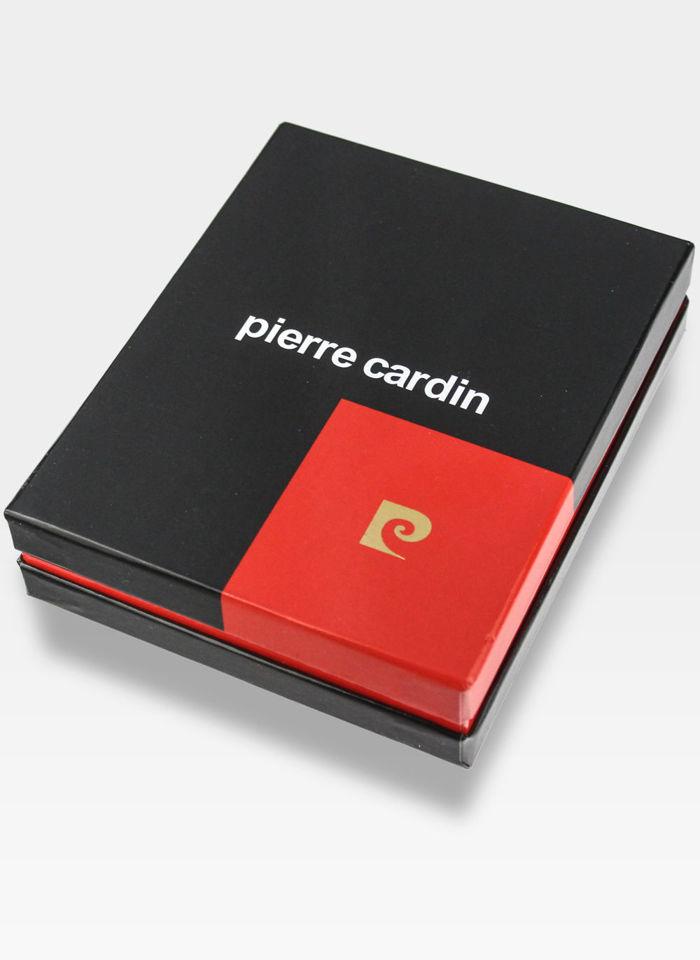 Portfel Męski Pierre Cardin Skórzany Czarny Tilak34 8806