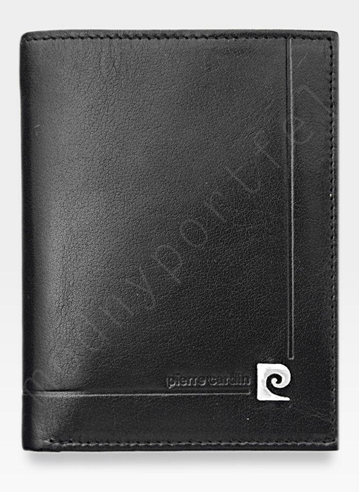 Portfel Męski Pierre Cardin Skórzany Klasyczny Czarny YS507.1 326