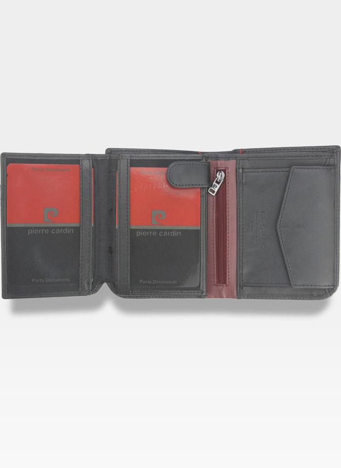 Portfel Męski Pierre Cardin Skórzany Pionowy Pojemny Tilak35 326  RFID