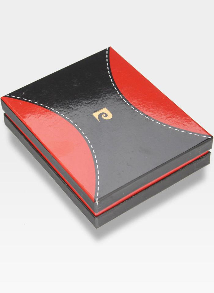 Portfel Męski Pierre Cardin Skórzany Pionowy Pojemny Tilak37 326  RFID