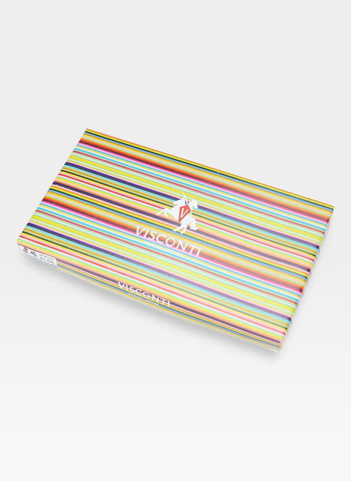 Visconti Portfel Damski Skórzany Colorado CD23 Czerwony