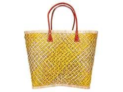 Damska Torebka ekologiczna A4 Glamour 70030 żółty