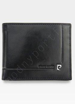 Mały I Cienki  Portfel Męski PIERRE CARDIN Skórzany YS507.1 8824 RFID