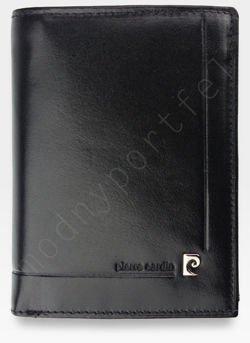 Portfel Męski Pierre Cardin Skórzany Klasyczny Czarny YS507.1 330