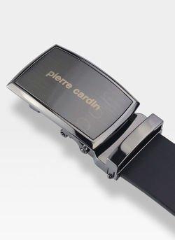 Skórzany Pasek Męski Automat Pierre Cardin 70016 Najwyższej Jakości Skóra Naturalna